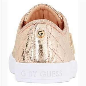 9843f76b29e G by Guess Shoes - G By Guess Rose Gold Metallic Sneaker